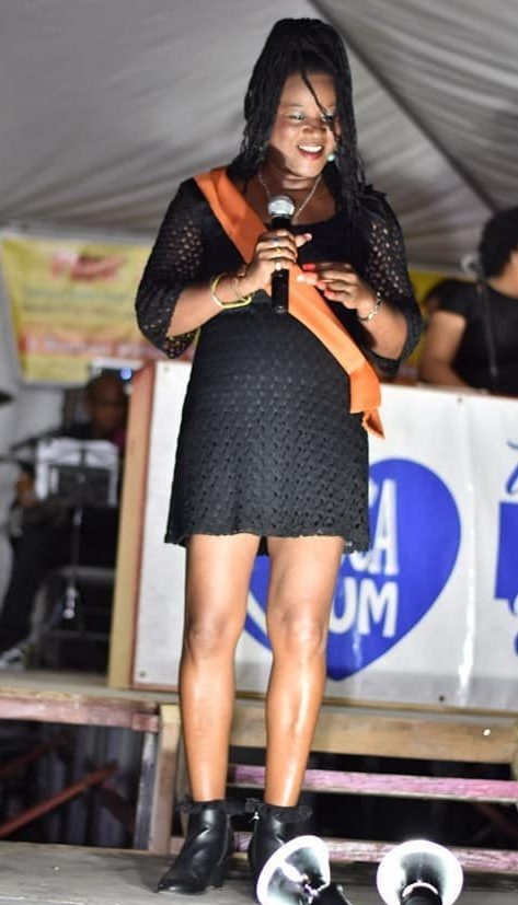 Mystrie at the Dominica Stardom Calypso Tent in Jan 15,2020